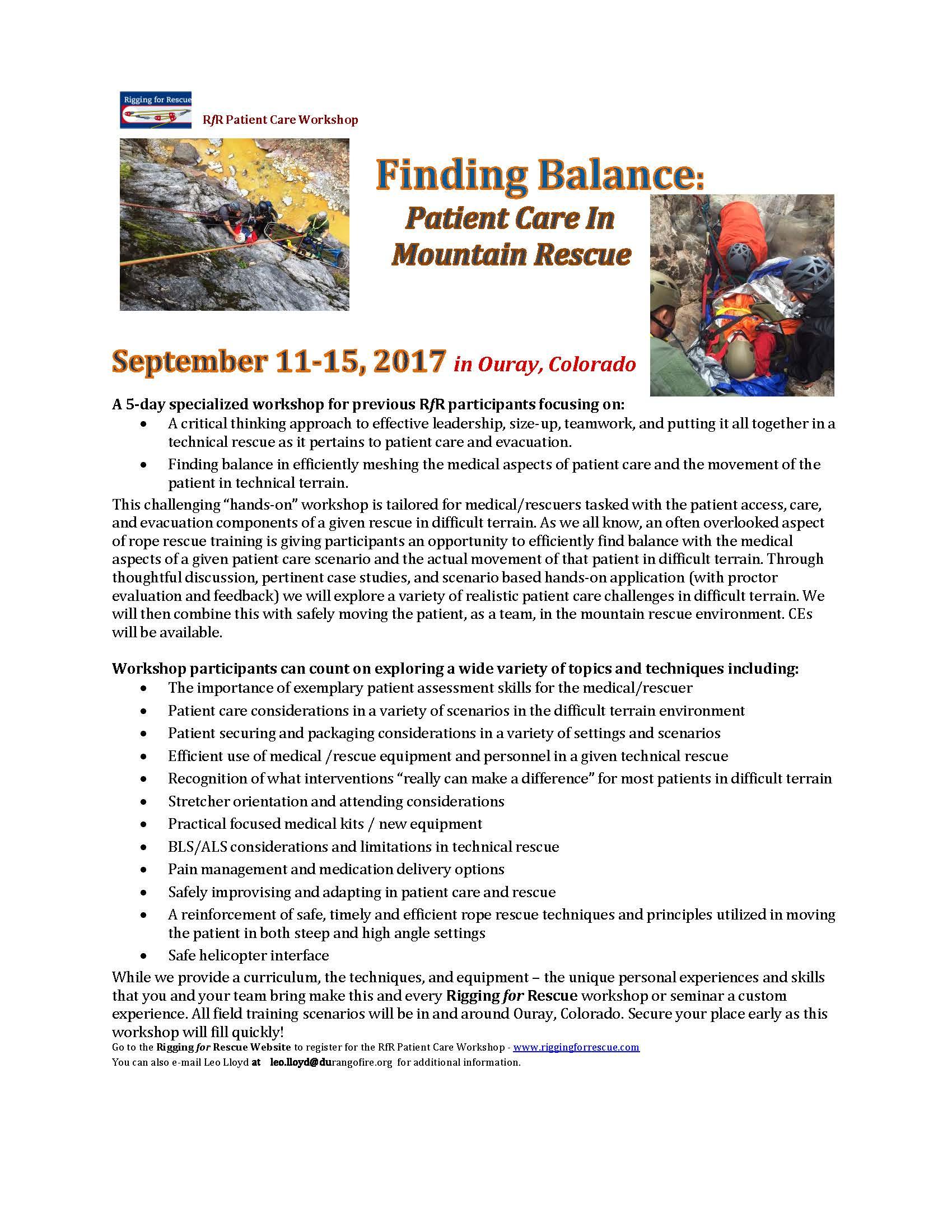 2017-rfr-patient-care-workshop-course-description