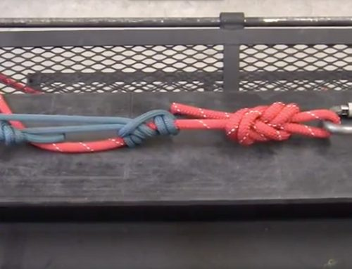 High-Modulus Aramid Fiber Friction Hitches in Technical Rope Rescue Systems