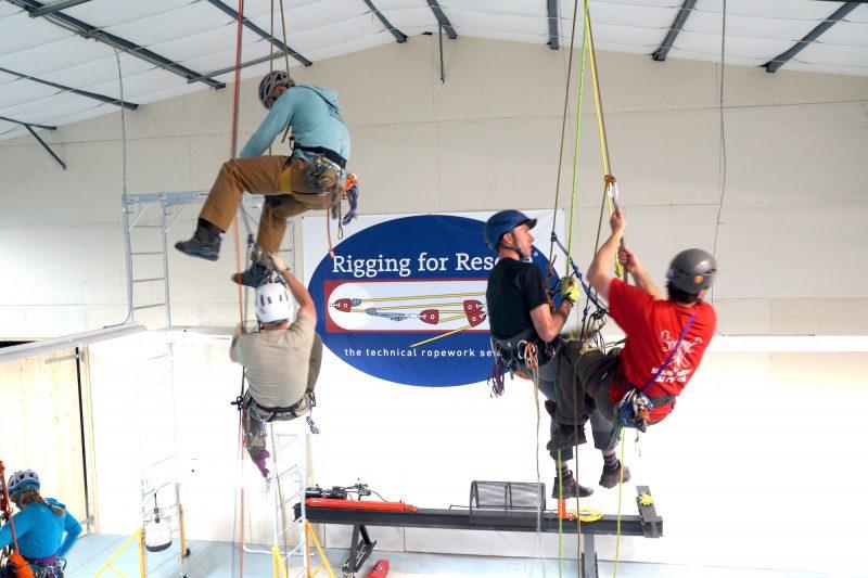 Leader Rescue practice