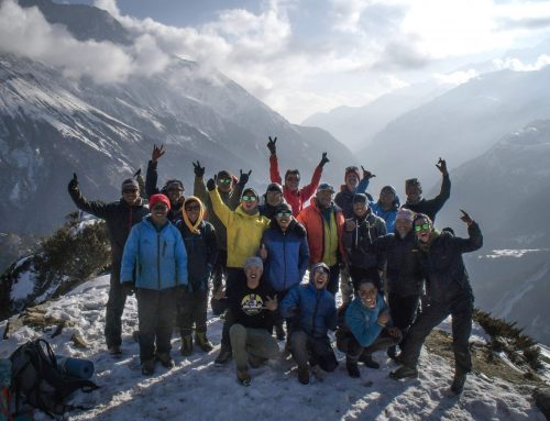 Khumbu Climbing Center Annual Training