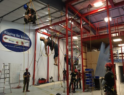 Rope Access in Ouray – SPRAT Training and Evaluation